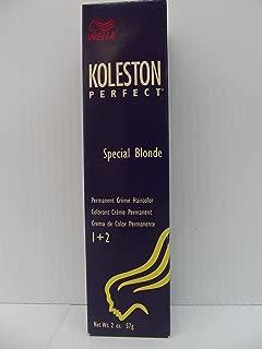 Wella Koleston Perfect Permanent Creme Haircolor 1+1 12/03 Special Beige Blonde