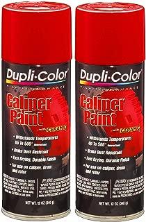 Dupli-Color BCP100 Red Caliper Paint with Ceramic 12 oz. Aerosol (2 PACK)