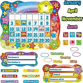 Trend Star Calendar Bulletin Board Set, Stars, 31 1/2