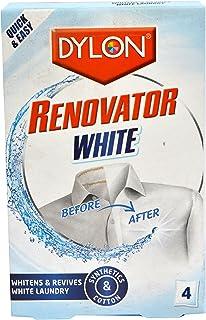 Tela Dylon Renovador blanqueador revive la ropa blanca para la colada, 4 bolsitas