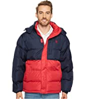 U.S. POLO ASSN. - Color Block Short Bubble Jacket