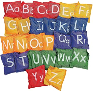 """Fun Express - Alphabet Bean Bags- 5"""" - 26 pc - Educational - Learning Aids - Manipulatives - 26 Pieces"""
