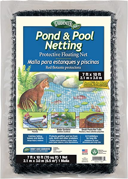 Dalen PN10 Gardeneer By Pond Pool Netting Protective Floating Net 7 X 10