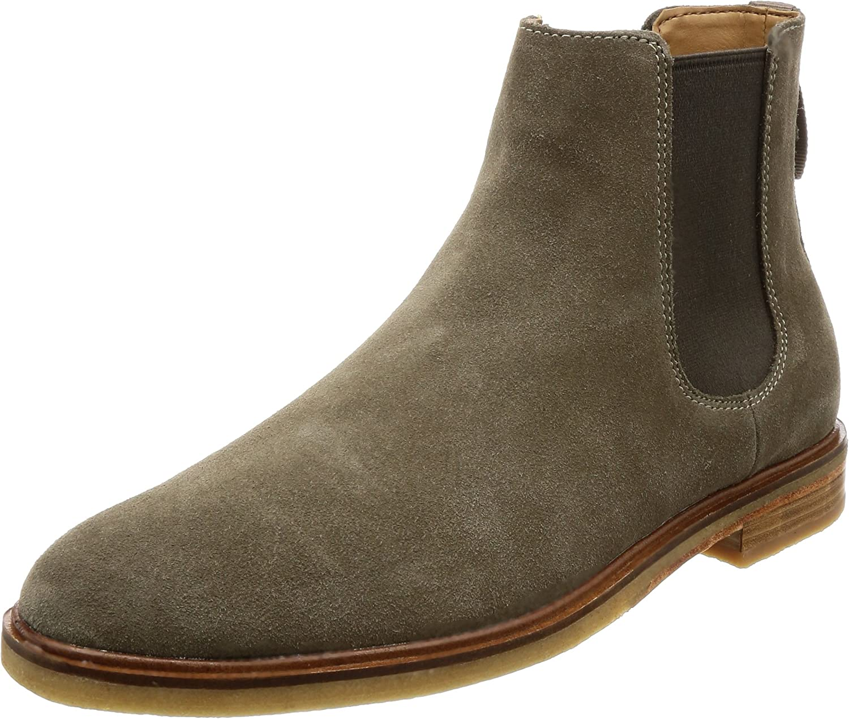 La rödoute Clarks herr Clarkdale Gobi läder läder läder Chelsea stövlar  letar efter försäljningsagent