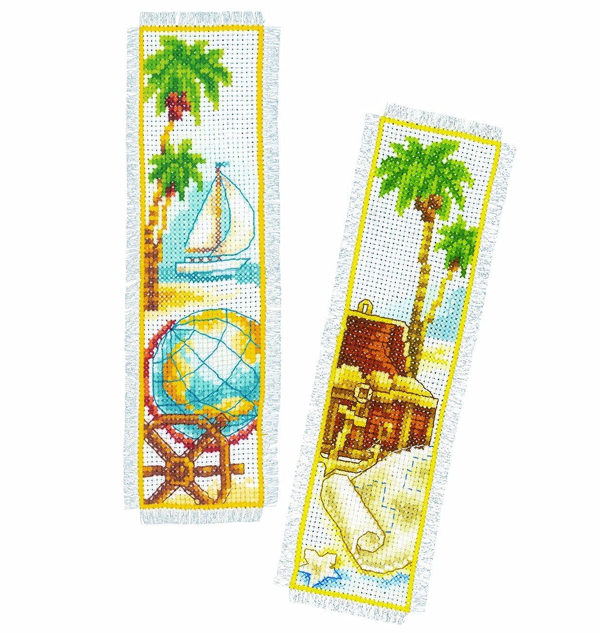Vervaco Counted Cross Stitch: Bookmark: Treasure Island