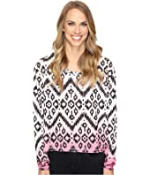 Roper - 0612 Sweater Jersey Crop Shirt