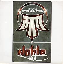 NOBLE ART - CD single PROMO 1 Track card Sleeve- I AM featuring METHOD MAN & REDMAN