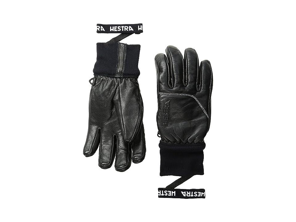 Hestra Omni (Black/Black) Ski Gloves