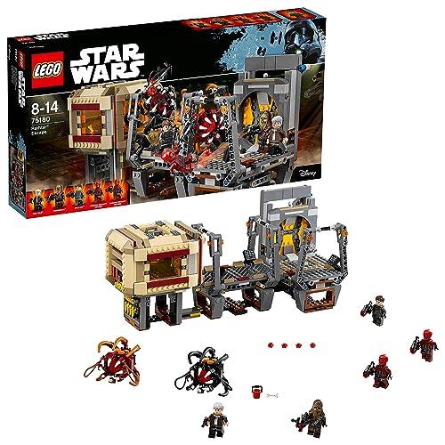 LEGO Star Wars - L'évasion des Rathtar - 75180 - Jeu de Construction