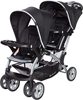 Babytrend Sit N stand Double Stroller Optic Grey