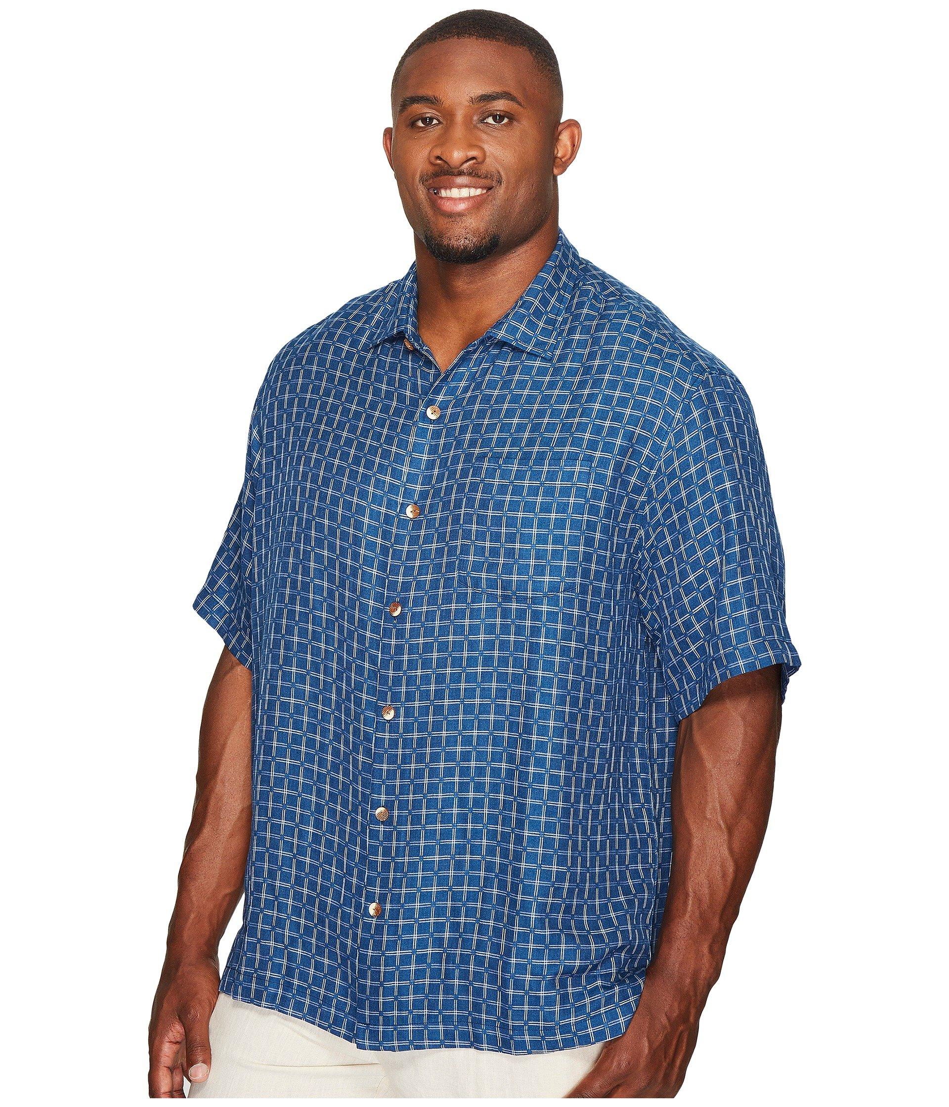 Tommy bahama big tall big tall keep it in check camp for Tommy bahama florida shirt