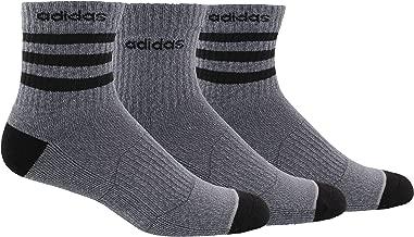adidas Men's 3-Stripe High Quarter Sock (3-Pair)