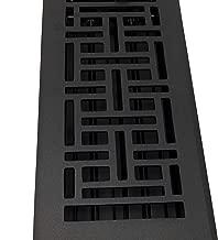 Madelyn Carter Arts and Crafts Floor Registers Black