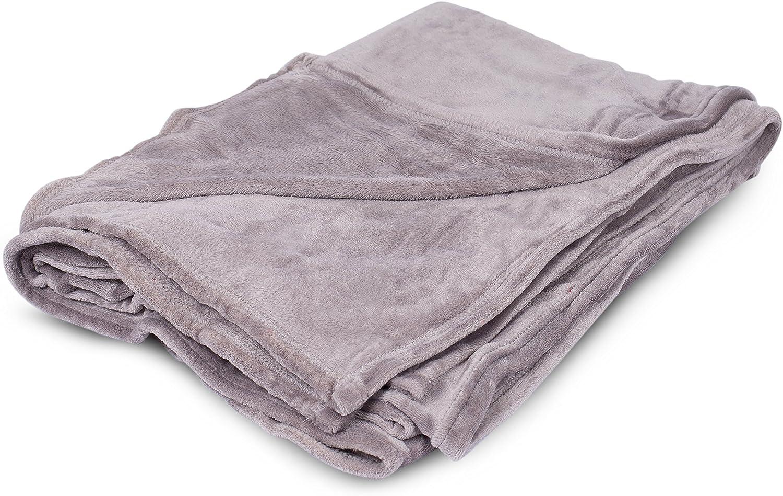 BIRDROCK HOME Internet's Best Plush - Max 48% OFF Max 48% OFF Throw Blankets Grey