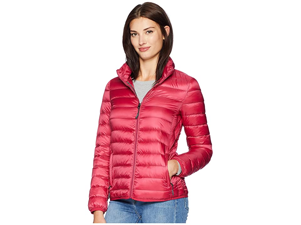 Tumi Clairmont Packable Travel Puffer Jacket (Magenta) Women