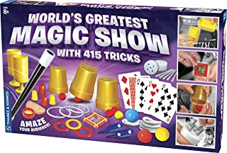 Thames & Kosmos World's Greatest Magic Show with 415 Tricks Magic Set   60 Page Illustrated Instructions   Fun for Kids Ages 8+