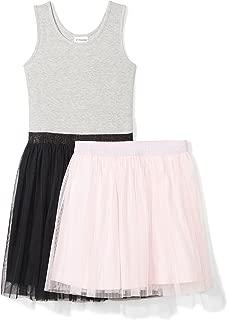 Amazon-Marke: Spotted Zebra Mädchen Tutu Tank Dress and Skirt Set, 2er-Pack