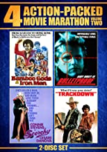Action Packed Movie Marathon: Volume 2 (Bamboo Gods & Iron Men, Bulletproof, Trackdown & Scorchy)