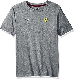 PUMA Men's Scuderia Ferrari Small Shield T-Shirt