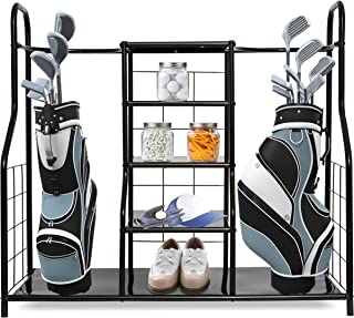 Morvat Golf Organizer for Golf Gadgets, Golf Bag & Golf Accessories - Perfect Way to Store and Organize Your Golf Equipment, Golf Stuff, Clubs & Golf Travel Bag