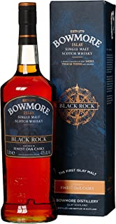 Bowmore Black Rock Whisky mit Geschenkverpackung 1 x 1 l