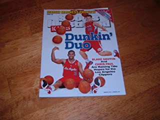 Sports Illustrated Kids March 2012 (Cover) Dunkin' Duo Blake Griffin & Chris Paul Plust March Madness Preview