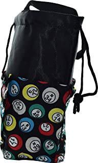 New Bingo Rounded Bag with 9 Storage Pockets and Drawstring