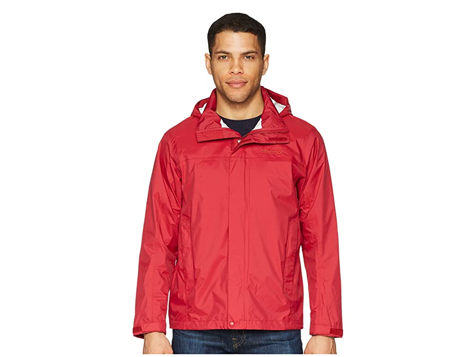 Marmot PreCip Jacket (Sienna Red) Men