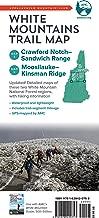 AMC White Mountains Trail Maps 3-4: Crawford Notch-Sandwich Range and Moosilauke-Kinsman (Appalachian Mountain Club White Mountains Trail Map)