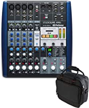 Presonus StudioLive AR8c 8-channel USB-C Compatible Audio Interface/Analog Mixer/Stereo SD Recorder with Bag and Cables
