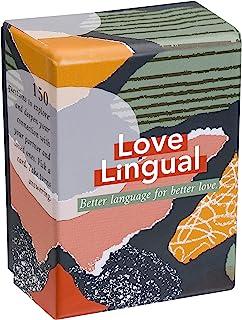 لغة الحب: لعبة البطاقات - 150 سؤال لبدء المحادثة للأزواج - لاستكشاف وتعميق الاتصالات مع شريكك - بطاقات موعد الليل والعلاقات