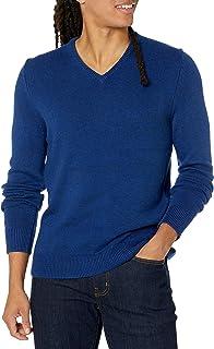 Amazon Brand - Goodthreads Men's Supersoft Marled V-Neck Sweater