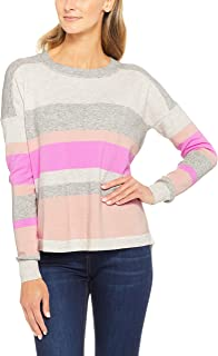French Connection Women's Varsity Knit, Multicolored (