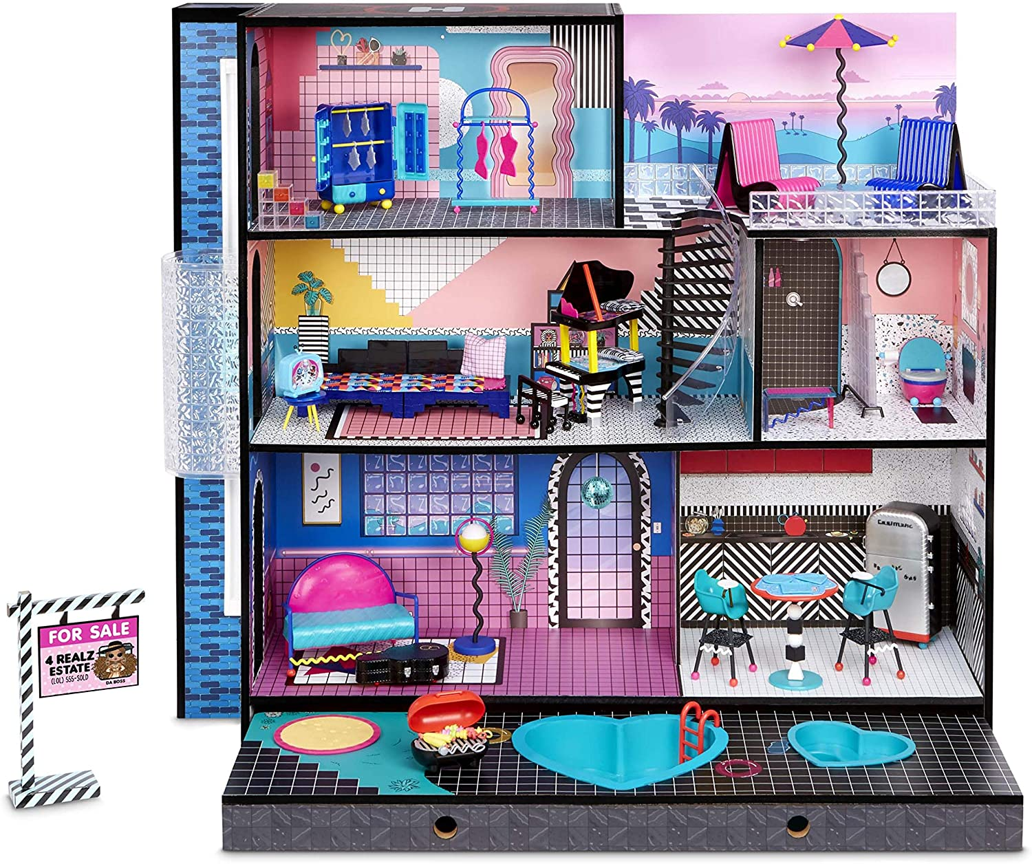 LOL Surprise Home Sweet Home - Assembled set with accessores & Furniture