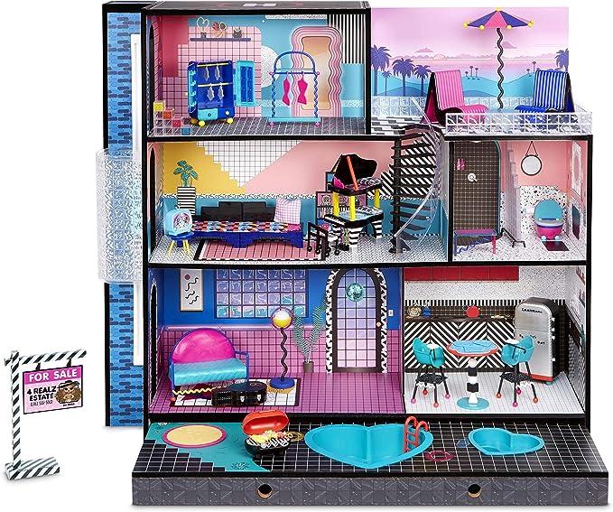 297 opinioni per LOL Surprise OMG casa delle bambole in vero Legno con una bambola, dei mobili ed