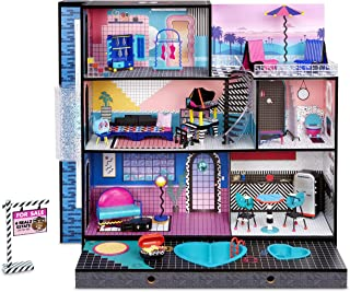 LOL Surprise Home Sweet with OMG Doll– Real Wood Doll House with 85+ Surprises | 3 Stories, 6...