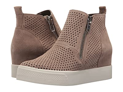 Steve Madden Wedgie-P Sneaker (Taupe Suede) Women