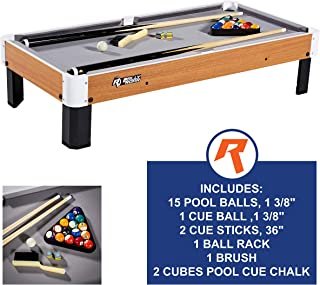 mini billiard table size