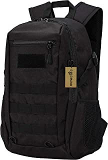 Wowelife Mini Tactical Backpack 10L Small Military Day Pack School Bag for Hunting Camping Trekking Travel