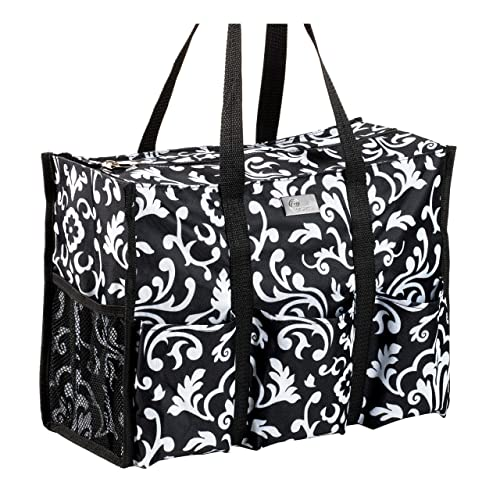 9dff36bc9 Pursetti Teacher Bag with Pockets - Perfect Gift for Teacher's Appreciation  and Christmas (Paisley)