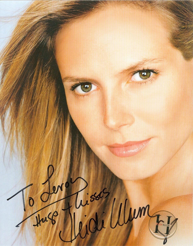 Heidi Klum inscribed autographed Manufacturer regenerated product UACC Photo 8x10 Popular brand signed