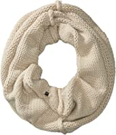 Plush Fleece-Lined Chunky Knit Neck Warmer