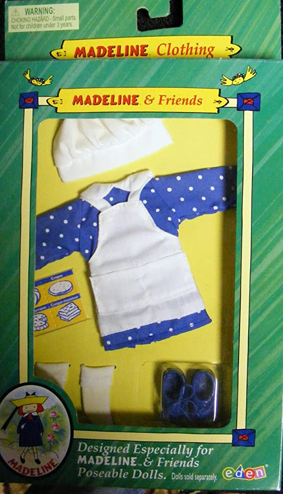 Madeline Doll (Rare) Making Treats Outfit 2000