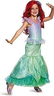 Ariel Ultra Prestige Disney Princess The Little Mermaid Costume, X-Small/3T-4T