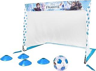 GoSports Disney Soccer Goal Set for Kids - Includes Single 4' x 3' Backyard Soccer Goal, Soccer Ball and Sport Cones - Enc...