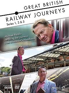 Great British Railway Journeys Series 1 - 3 anglais