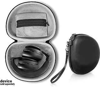 getgear Headphone Case for Kygo Life A9/600, Beats Studio3, Studio2, Studio, Mpow 059, H1/H2/H5/Thor, Audio-Technica ATH-M50x/M50/M70X/M40x/M30x/M20x, Bluedio Turbine T2s, T2 & T2, Black