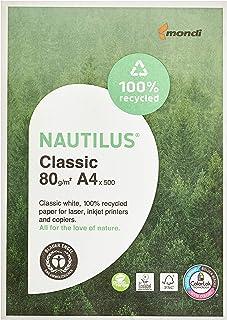 comprar comparacion Mondi 88032442 Nautilus Classic - Hojas A4, 500 unidades, 80 g/m², color blanco