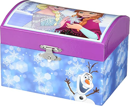 Disney Frozen Musical Blau Jewelry Box