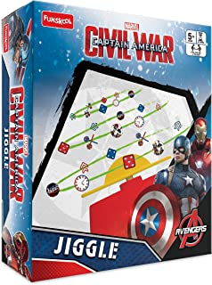 Funskool Captain America Civil War - Jiggle, Multi Color